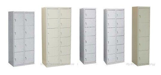 Ячеечные шкафы Предназначены для хранения личных вещей и одежды в...